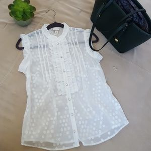 Ruffles blouse S